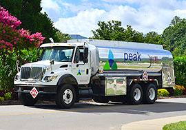 Peak Energy Delivers Home and Business Heating Fuel in Buncombe County, Haywood County, Jackson County, Swain County, and the Mooresboro areas